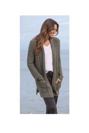 Barefoot Dreams COZY CHIC LITE CABLE CARDIGAN - Product Mini Image