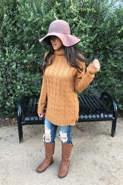Zenana Outfitters Cozy Coffe Sweater - Product Mini Image