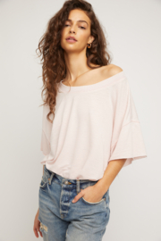Free People  Cozy Cool Girl Bodysuit - Front cropped