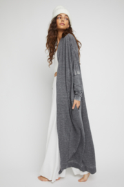 Free People  Cozy Cool Girl Cardigan - Front full body
