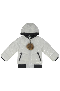 Shoptiques Product: Cozy Coop Hooded Puffer Unisex Jacket for Girls|Boys|Children|Winter Wear