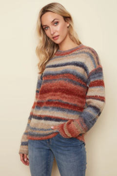 Charlie B.  Cozy Crew Sweater - Product List Image