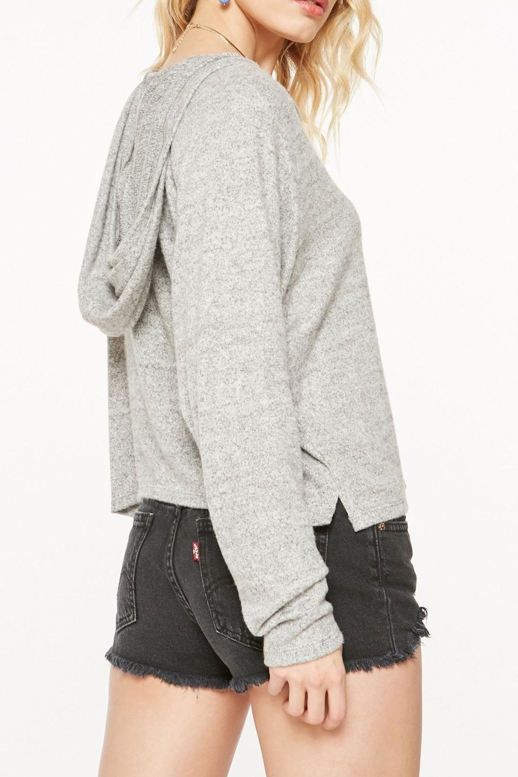 Project Social T Cozy Cropped Sweatshirt - Front Full Image