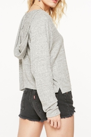 Project Social T Cozy Cropped Sweatshirt - Front full body