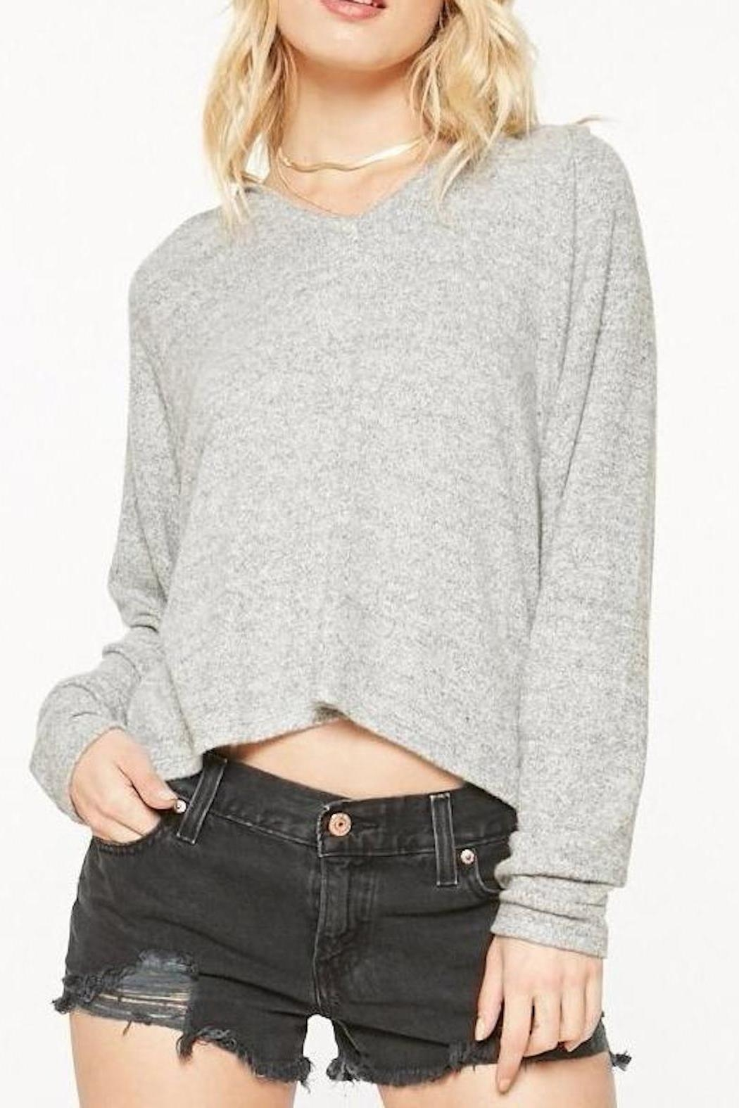 Project Social T Cozy Cropped Sweatshirt - Main Image