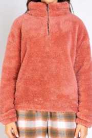 PJ Salvage Cozy Cuddlers Pullover - Front full body