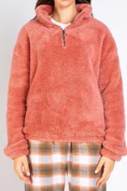 PJ Salvage Cozy Cuddlers Pullover - Front cropped