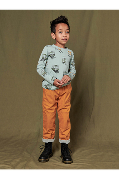 Tea Collection  Cozy Does It Lined Pants - Nugget - Alternate List Image