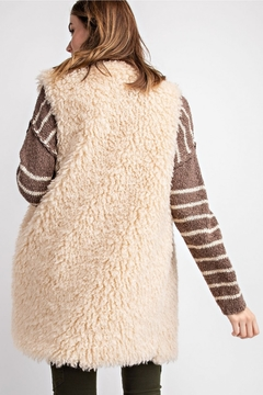 The Birch Tree Cozy Fur Vest - Alternate List Image