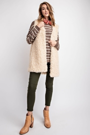 The Birch Tree Cozy Fur Vest - Product Mini Image