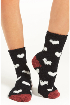 Shoptiques Product: Cozy Heart Socks