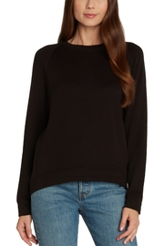 Matty M Cozy Hi Lo Fleece Sweatshirt - Front cropped