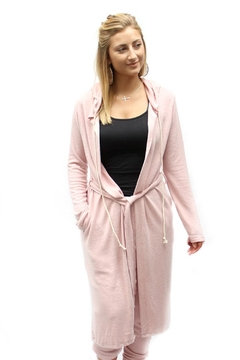 Shoptiques Product: Cozy Hooded Robe