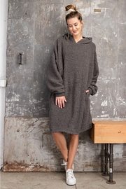 Easel  Cozy Hoodie Loungewear - Front cropped