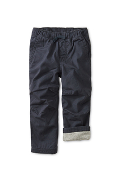 Shoptiques Product: Cozy Jersey Lined Baby Pants