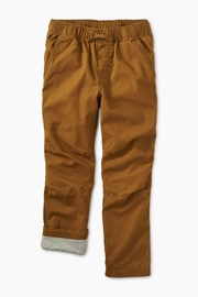 Tea Collection Cozy Jersey Lined Pant - Front cropped