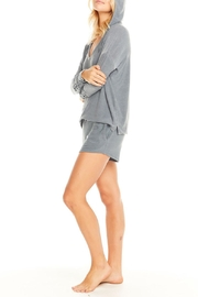 Chaser Cozy Knit Hoodie - Side cropped