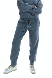 Allison Collection Cozy Knit Pants - Front cropped
