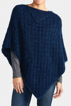 Coco + Carmen Cozy Knit Poncho - Alternate List Image