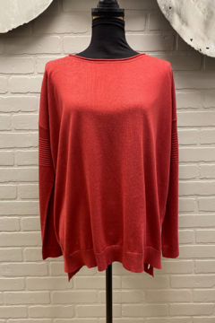 Planet Red  Washable Cozy Sweater - Alternate List Image