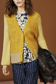 Munthe Cozy, Luxurious Cardigan - Front cropped