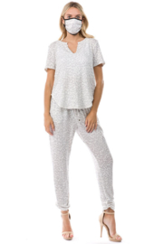 Ariella USA Cozy Matching Set with Mask - Product Mini Image