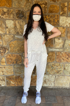 Ariella USA Cozy Matching Set with Mask - Alternate List Image