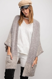 easel Cozy Mohair Cardigan - Product Mini Image