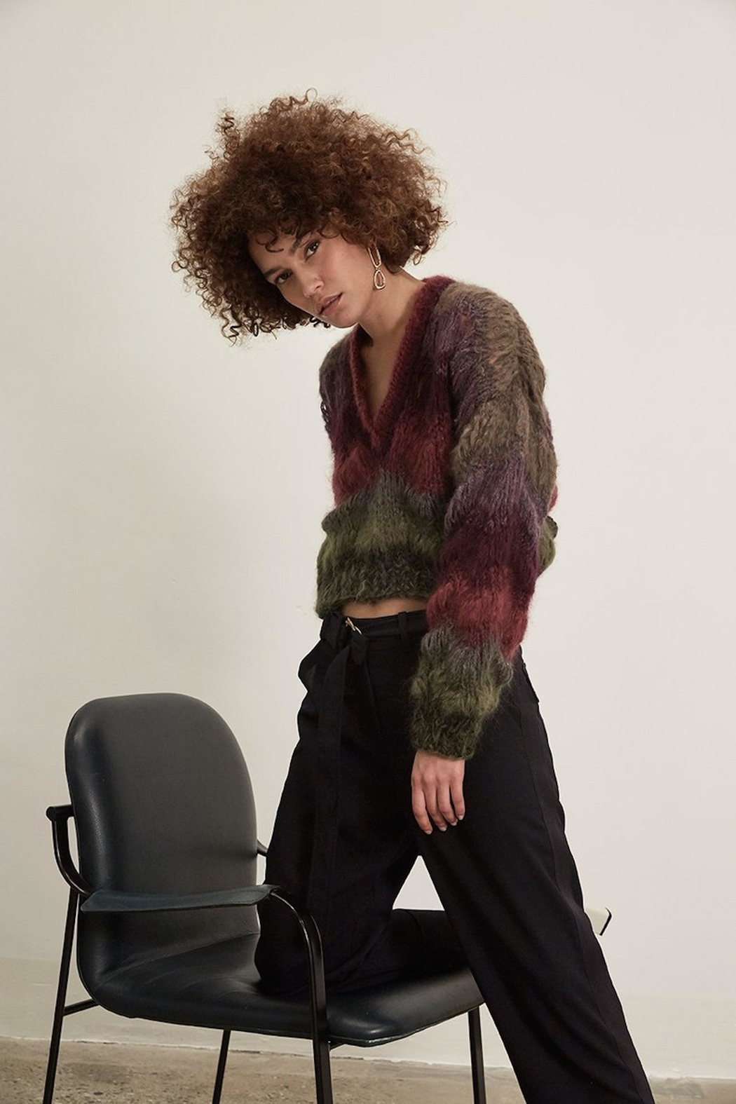 One Clothing Cozy Mohair Sweater - Main Image
