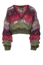 One Clothing Cozy Mohair Sweater - Front full body