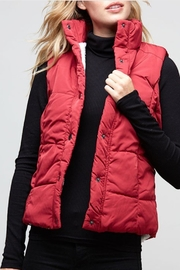 Fantastic Fawn Cozy Red Vest - Product Mini Image
