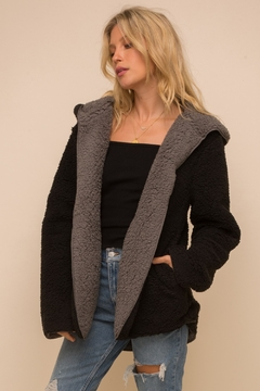 Shoptiques Product: Cozy Reversible Coat