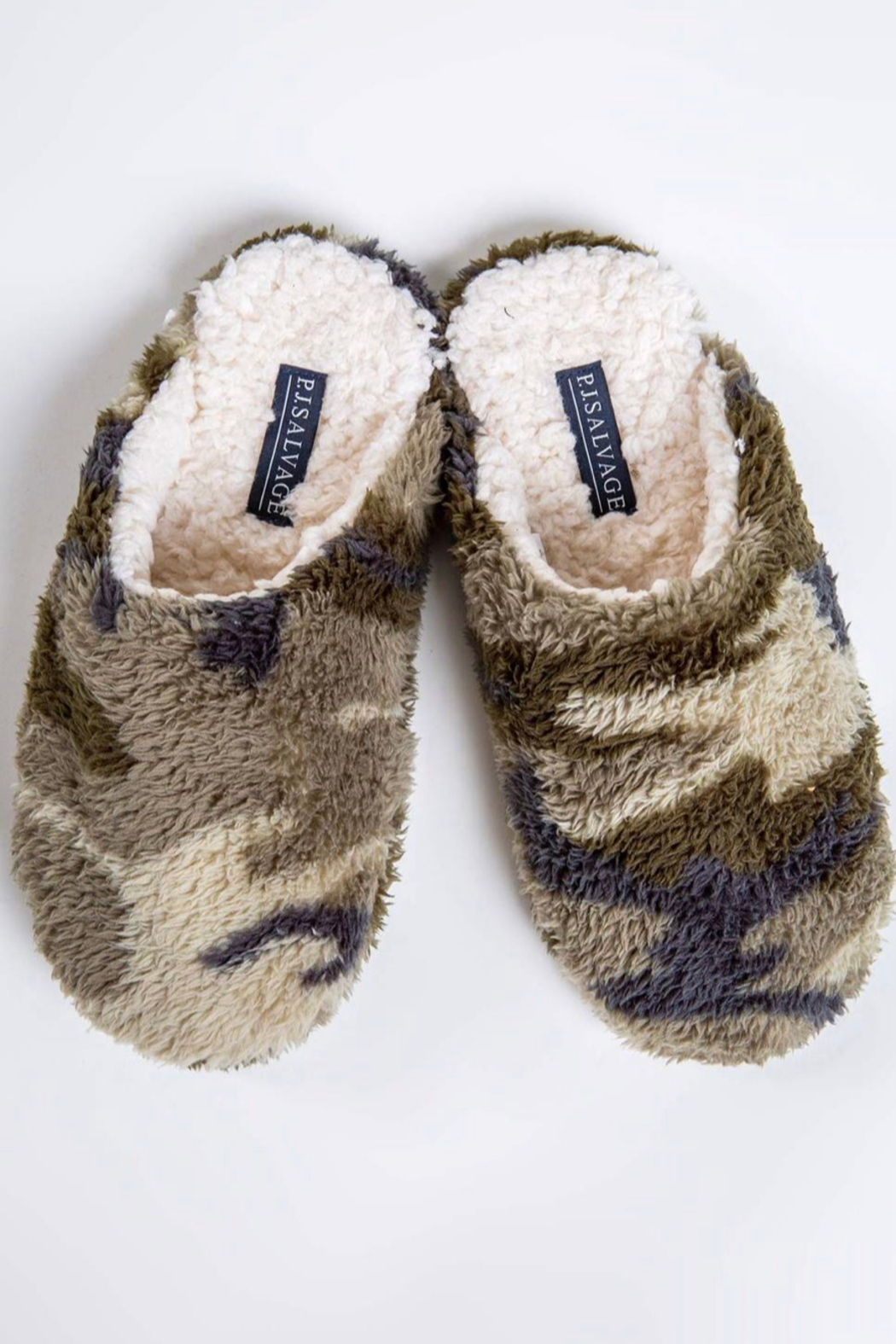 PJ Salvage Cozy Slippers - Front Cropped Image