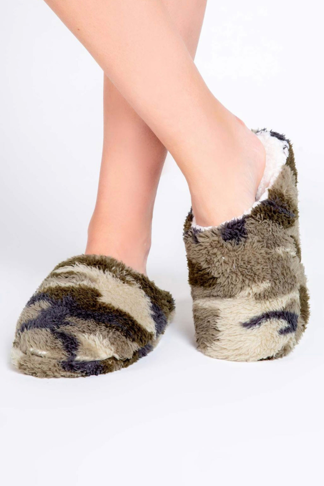 PJ Salvage Cozy Slippers - Front Full Image