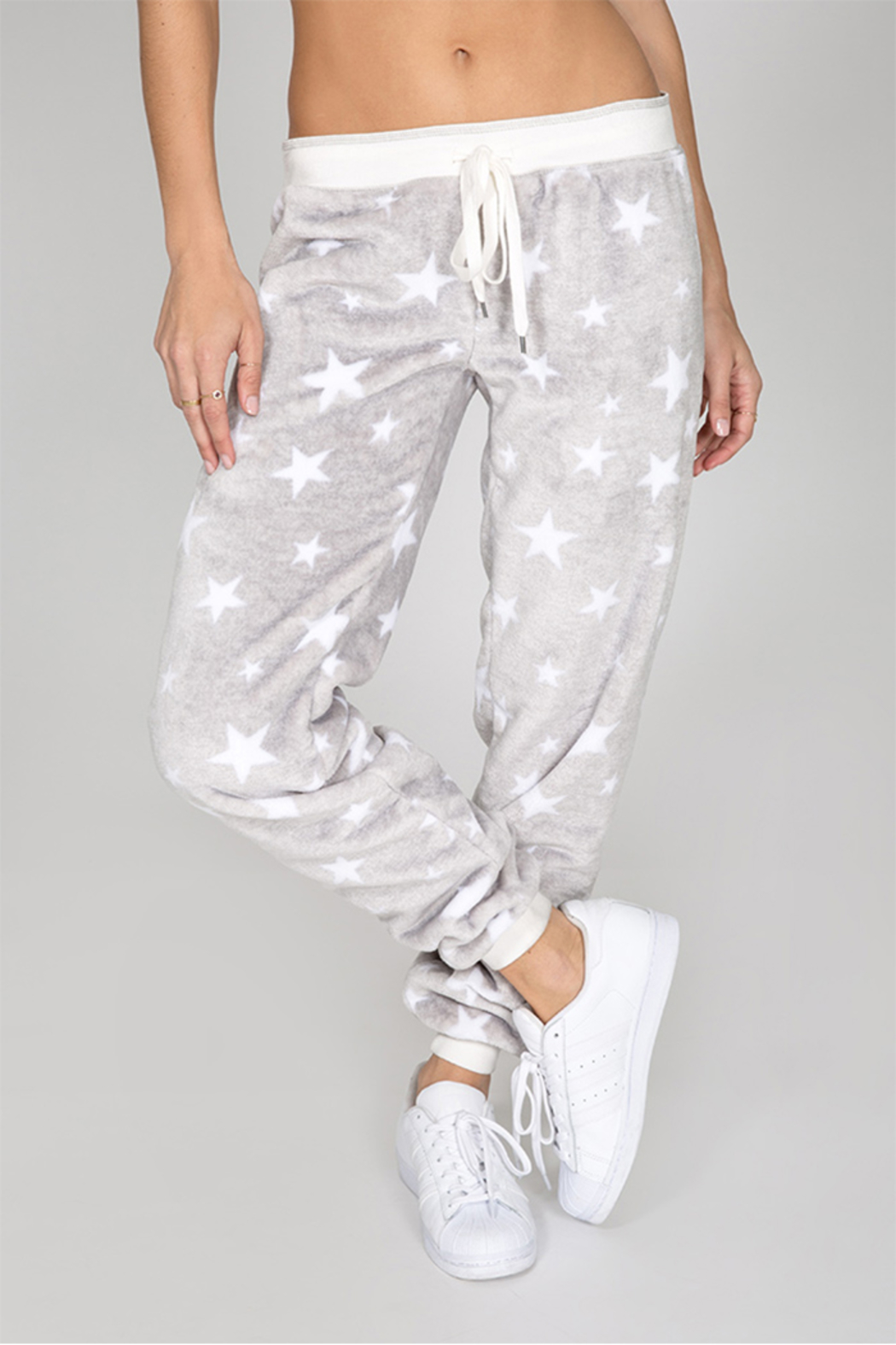 PJ Salvage Cozy Stars Pant - Front Cropped Image