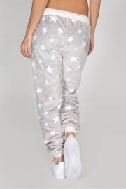 PJ Salvage Cozy Stars Pant - Front full body