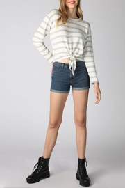 Hey  Cozy Striped Top - Product Mini Image