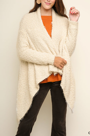Umgee USA Cozy Style cardigan - Front cropped
