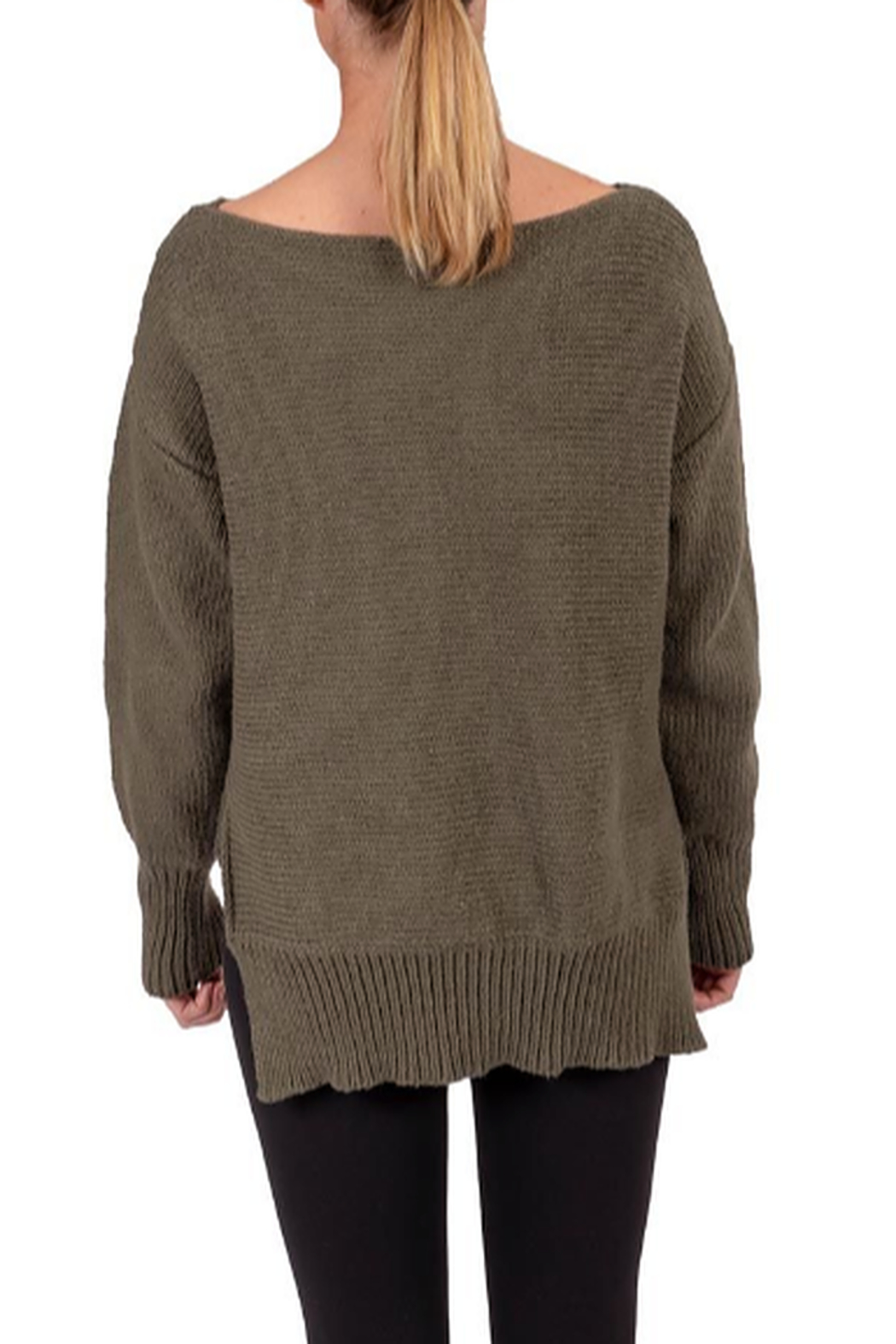 Soybu Cozy Sweater - Front Full Image