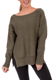 Soybu Cozy Sweater - Front cropped