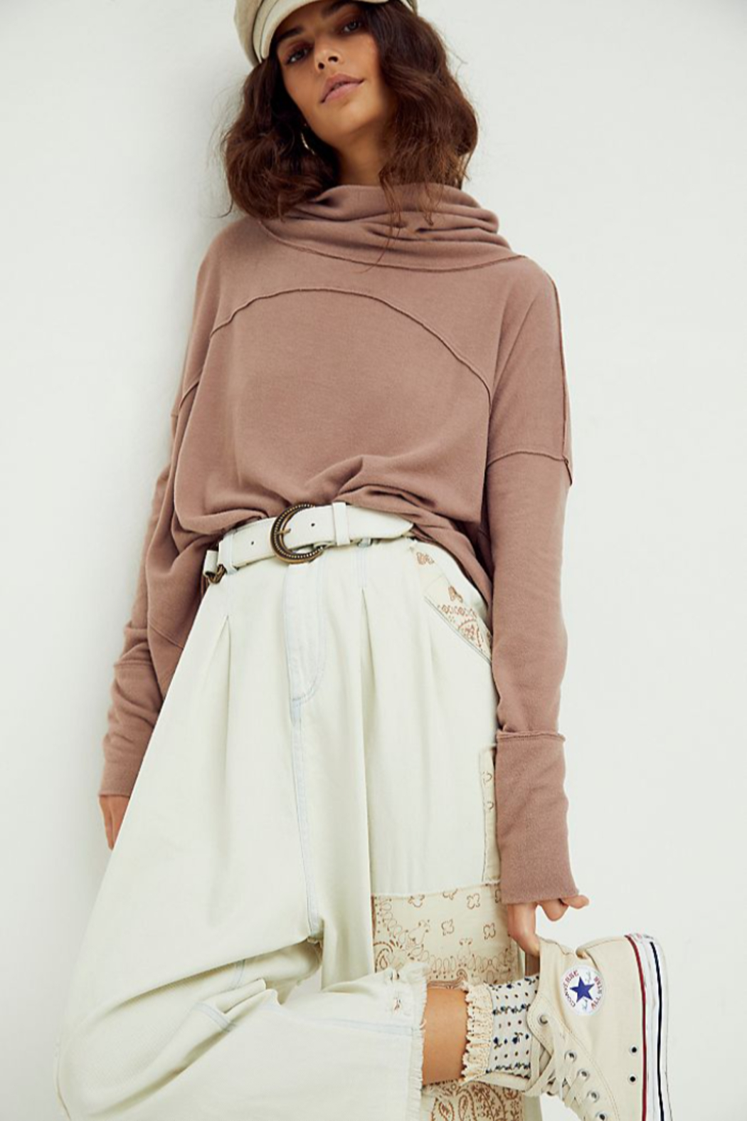 Free People  Cozy Time Funnel Top - Main Image