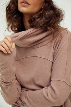 Free People  Cozy Time Funnel Top - Alternate List Image