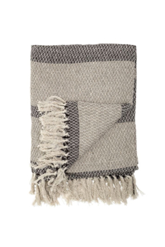Shoptiques Product: Cozy Up Throw In Shades Of Grey