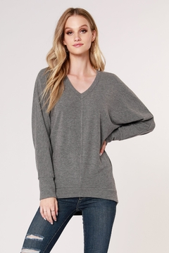 Shoptiques Product: Cozy V-Neck Dolman Top