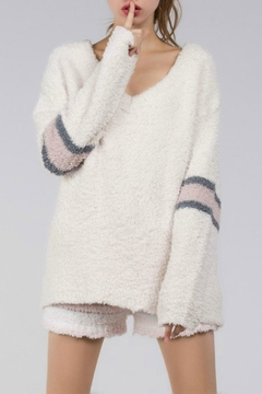 POL Cozy V-Neck Pullover - Product List Image