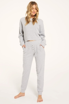 Z Supply  Cozy Waffle Jogger - Product List Image