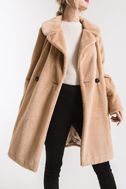rag poets Cozy Wrap Coat - Product Mini Image