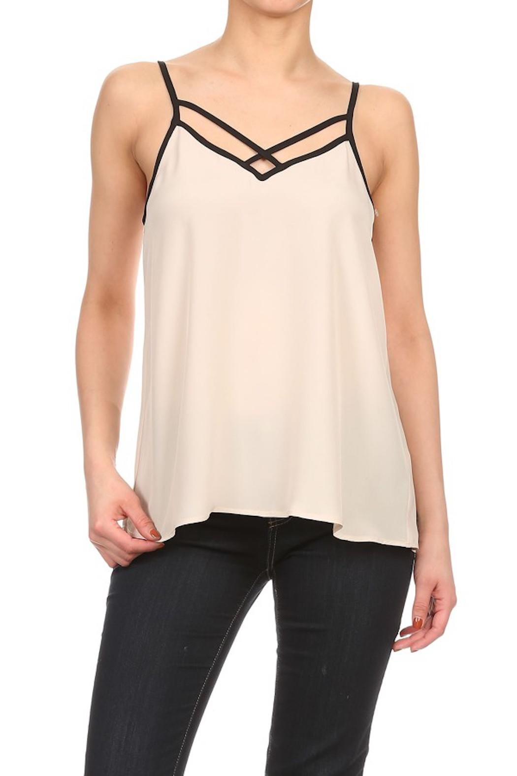Cozy Casual Casual Cami Top - Front Cropped Image