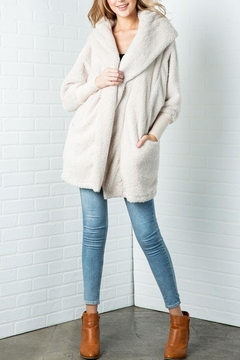 Shoptiques Product: Fluffy Faux Fur Jacket