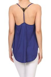 Cozy Casual Hi-Lo Tank - Back cropped